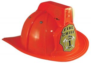 Jr Fire Chief Helmet Ages 3 Up