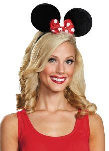 Minnie Mouse Ears Dlx Exclusiv