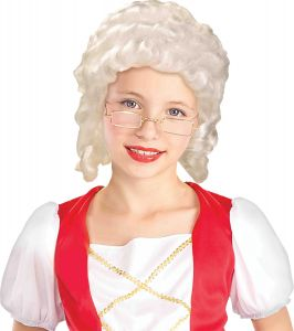 Wig Colonial Girl
