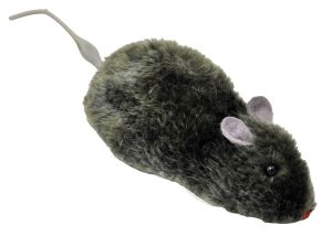 Wind Up Furry Mouse