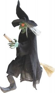 Witch Hanging On A Broom
