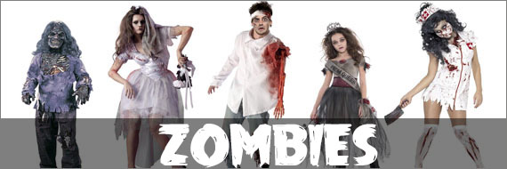 Womens Zombie Costumes